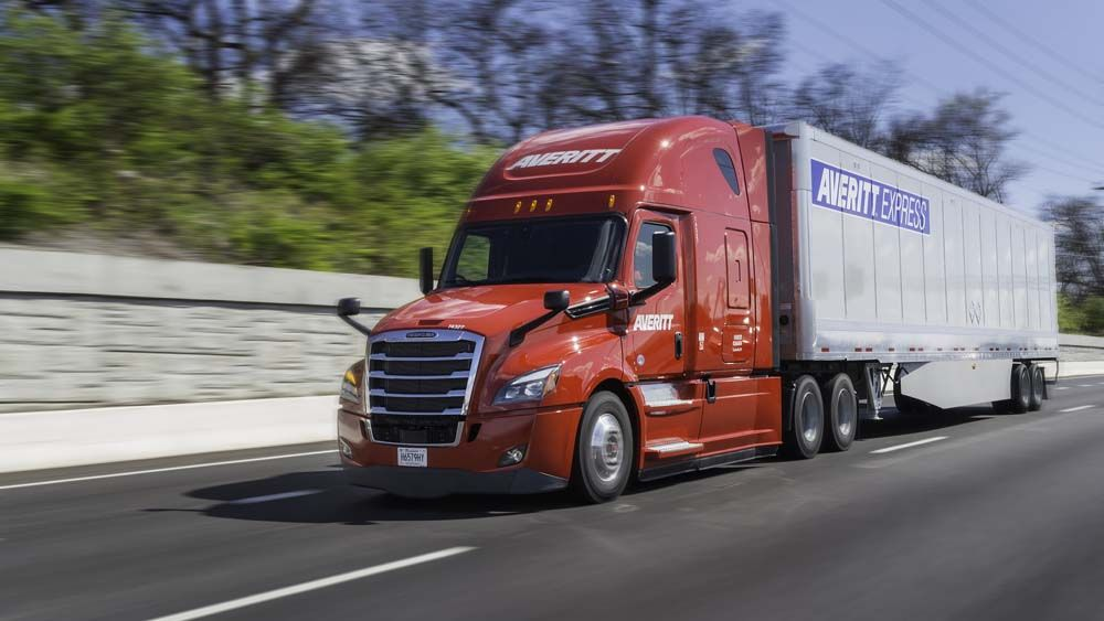 Averitt Safety Technology in Trucks on the Road